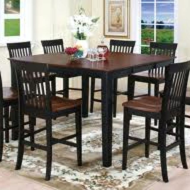 Best 25 tall kitchen table ideas on pinterest tall for Kitchen table with stools
