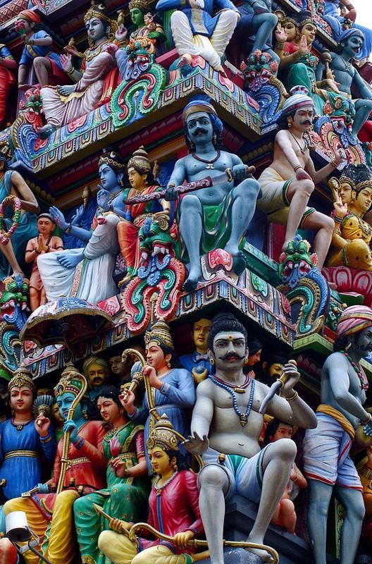 Colorful Deities
