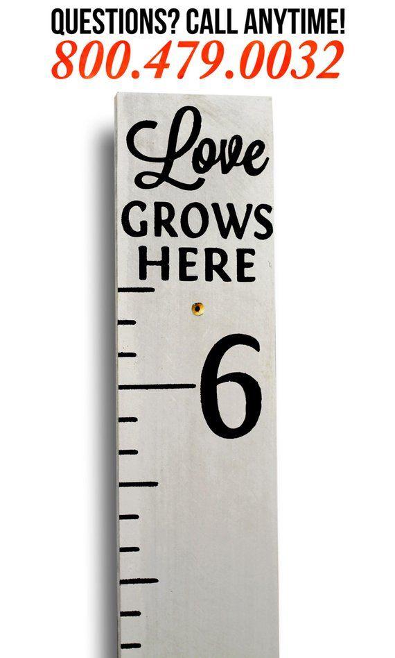 Growth Chartwooden Growth Chartnvas Growth Chartrsonalized