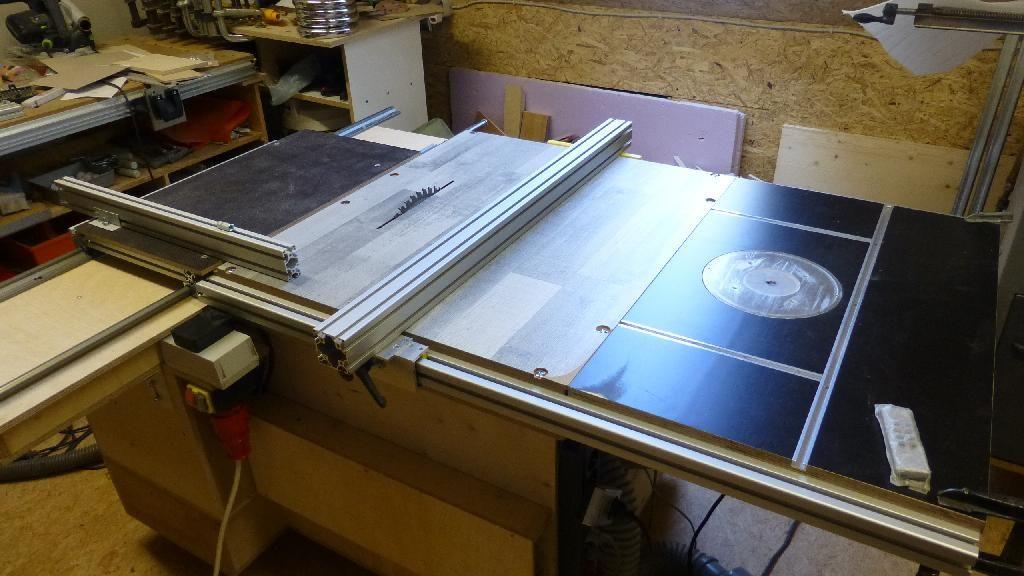 bildergebnis f r l ngsanschlag tischkreiss ge selber bauen router pinterest garage. Black Bedroom Furniture Sets. Home Design Ideas