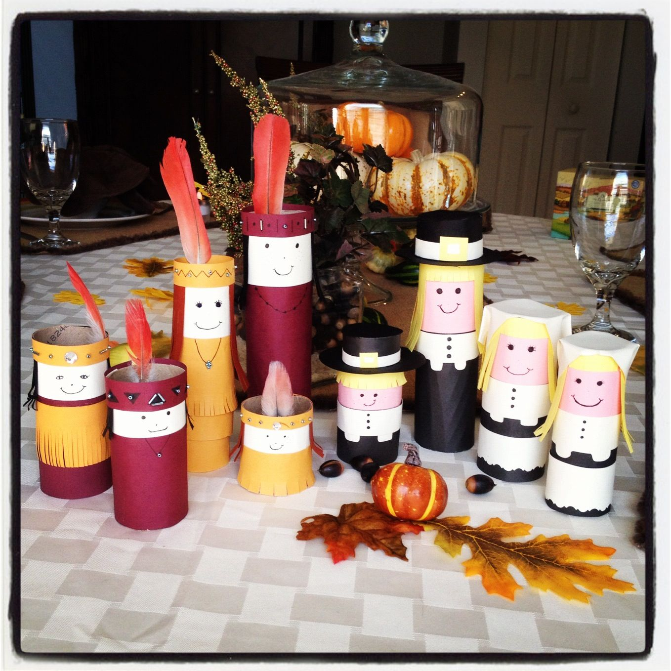 39++ Paper towel roll crafts thanksgiving ideas