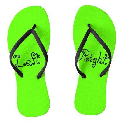 34dea2474  Left Foot Right Foot Flip Flops -  womens  shoes  womensshoes  custom
