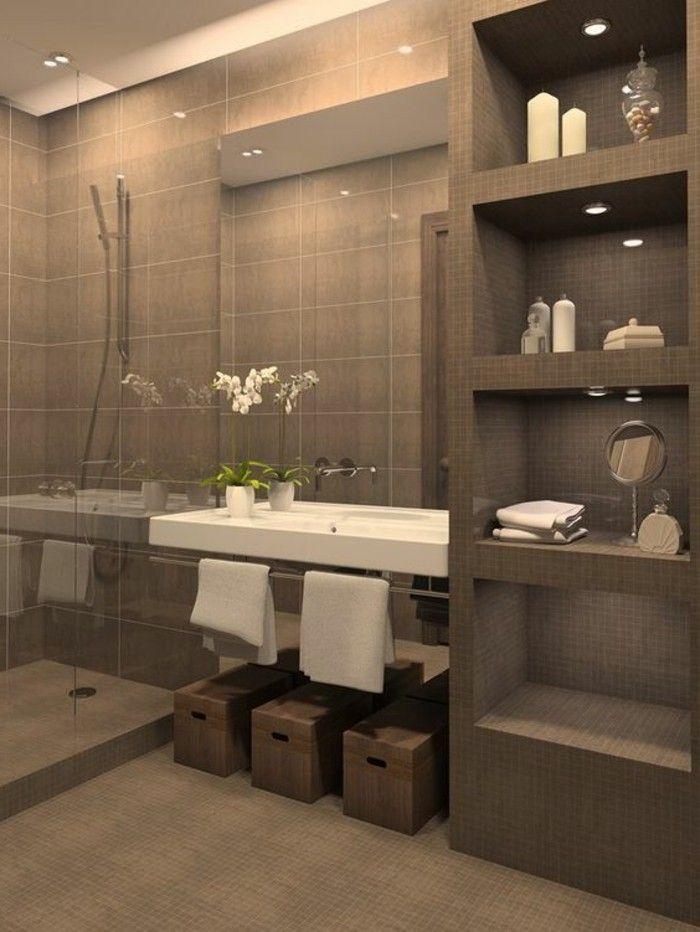 Badezimmer Deko Badezimmer Gestalten In Grau Mit Weisen Blumen