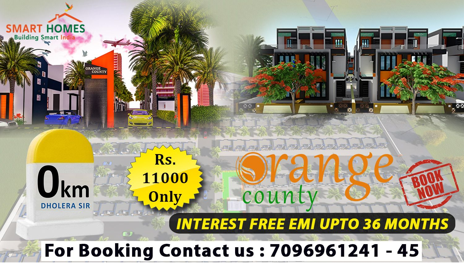 Very First time in Dholera Orange County Studio Villas