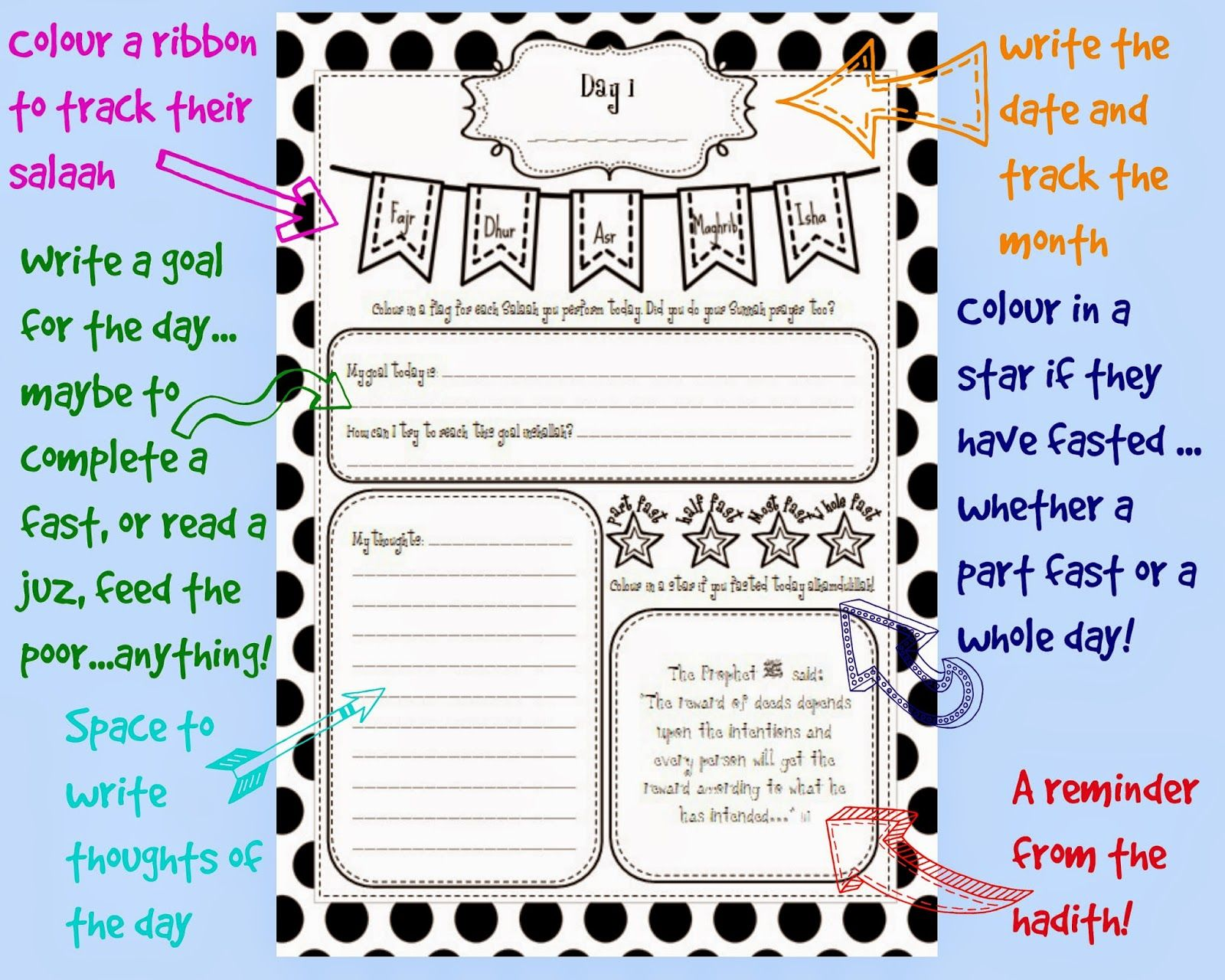 Kids Ramadan Journal Download