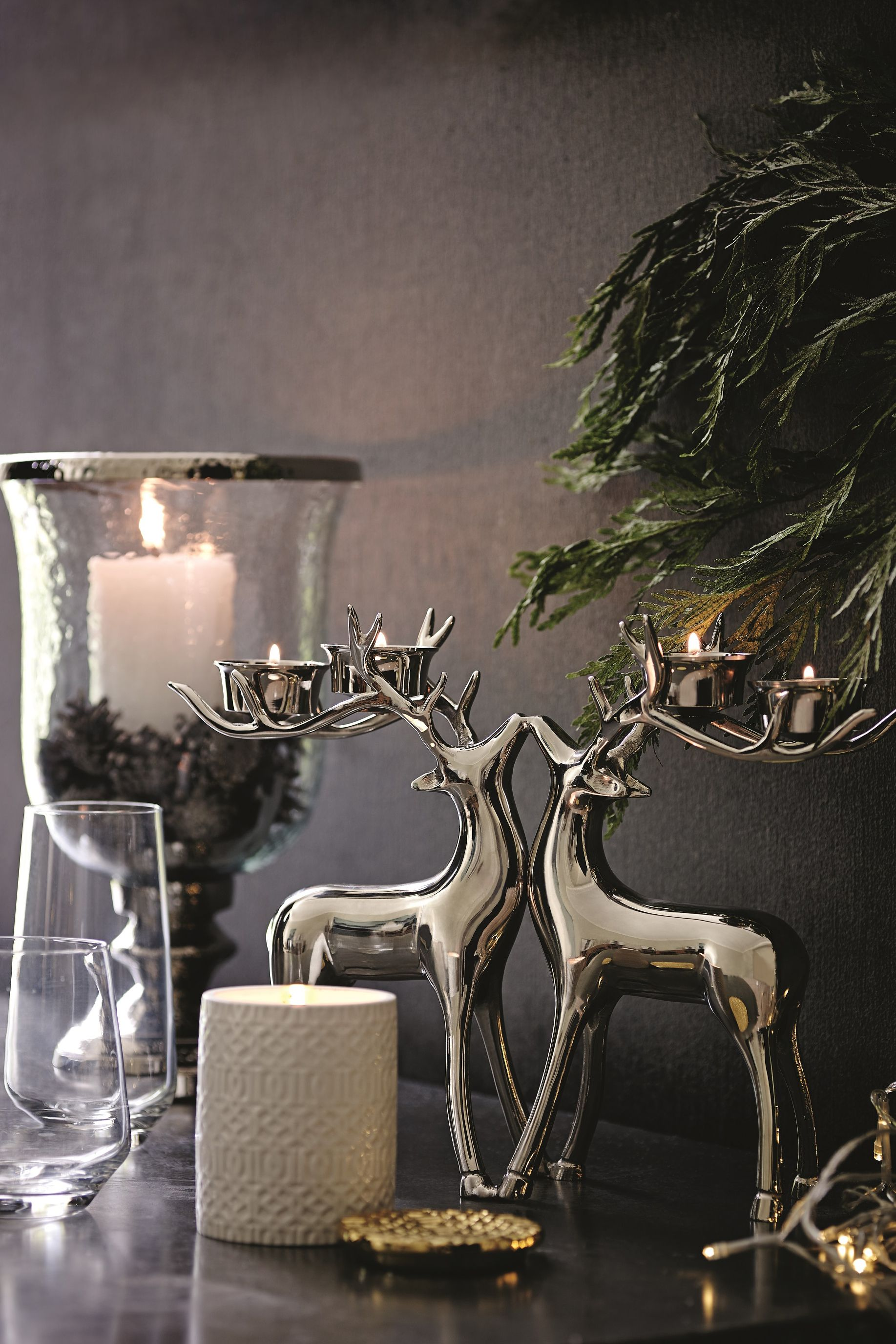 Fill your home with stylish and sophisticated seasonal ornaments and