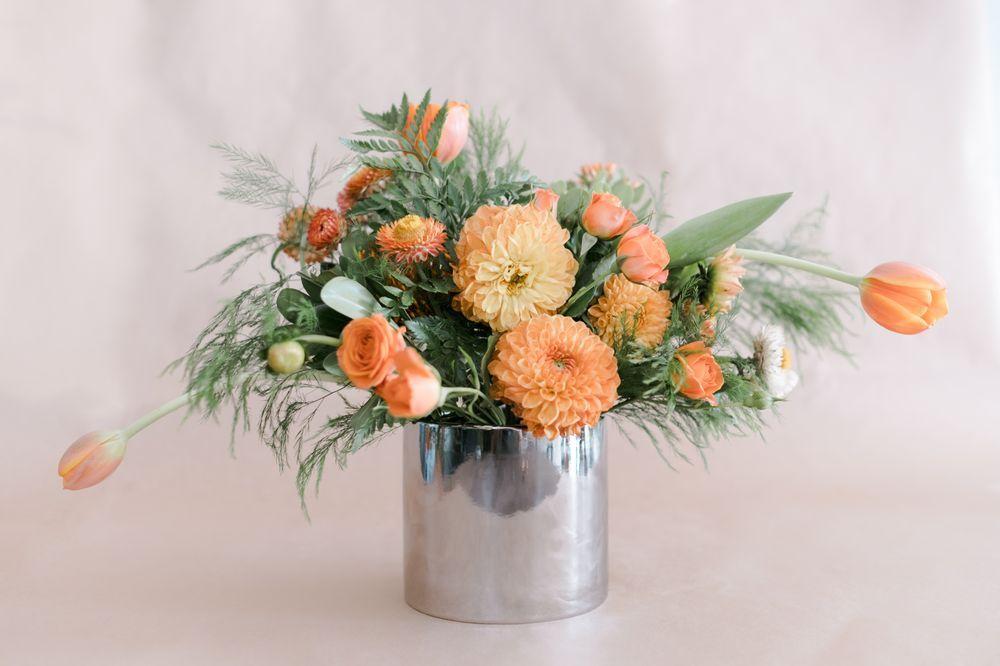 Amelias flower truck flower truck flowers table