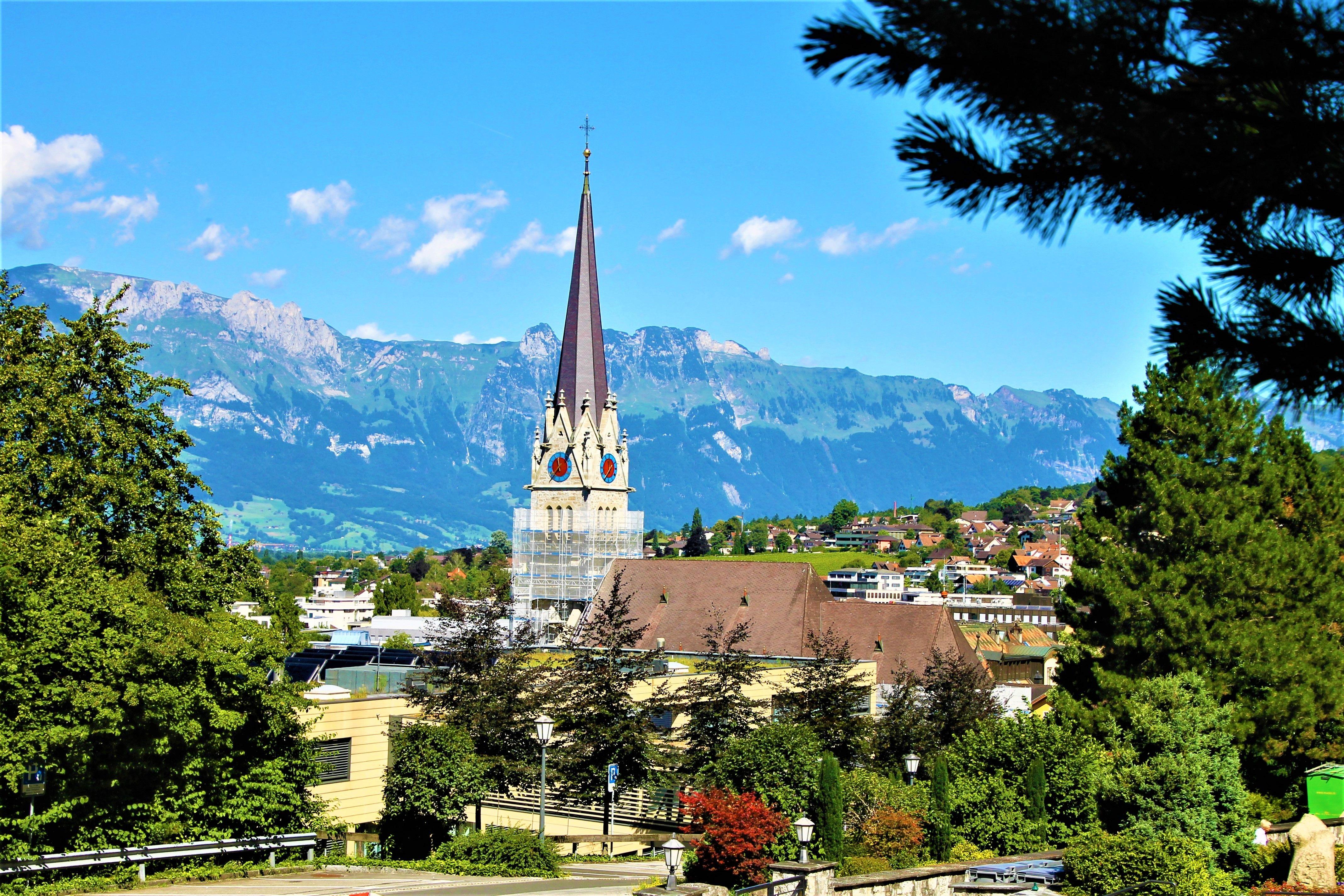 Liechtenstein Vaduz Voyage Ballade
