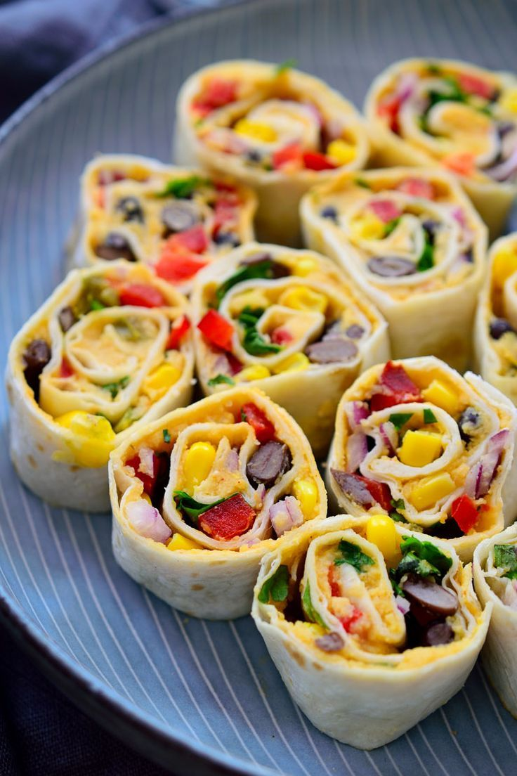 These Mexican Tortilla Roll Ups Are Vegan And Make A Great