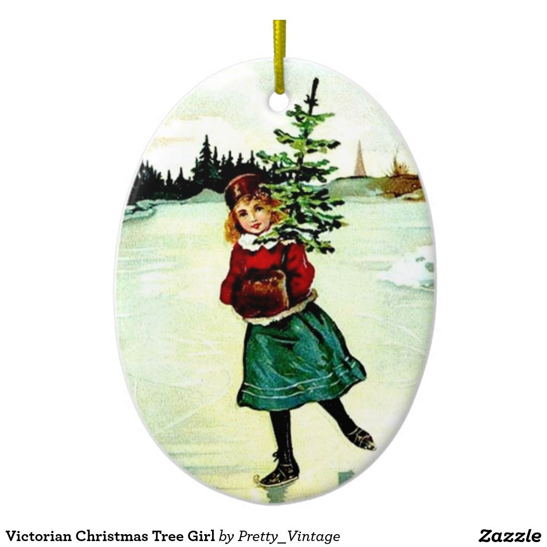 $17.20 per Victorian Christmas Tree Girl ornament. Click the ornament or title for free information about it. 40% off with code CYBRWEEKSALE  (week of 11/29/16) Merry Christmas and Happy New Year! :)