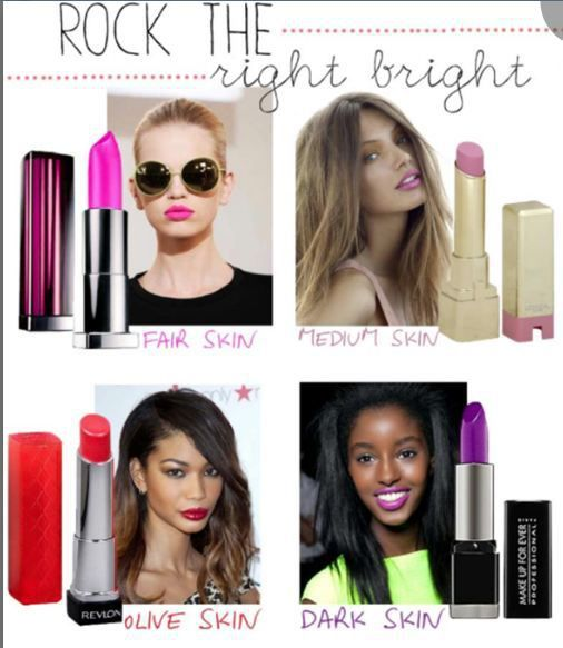 """""""Best Lipsticks for Your Skin Tone!"""" Awesome list on  by Garima Verma #fashion"""