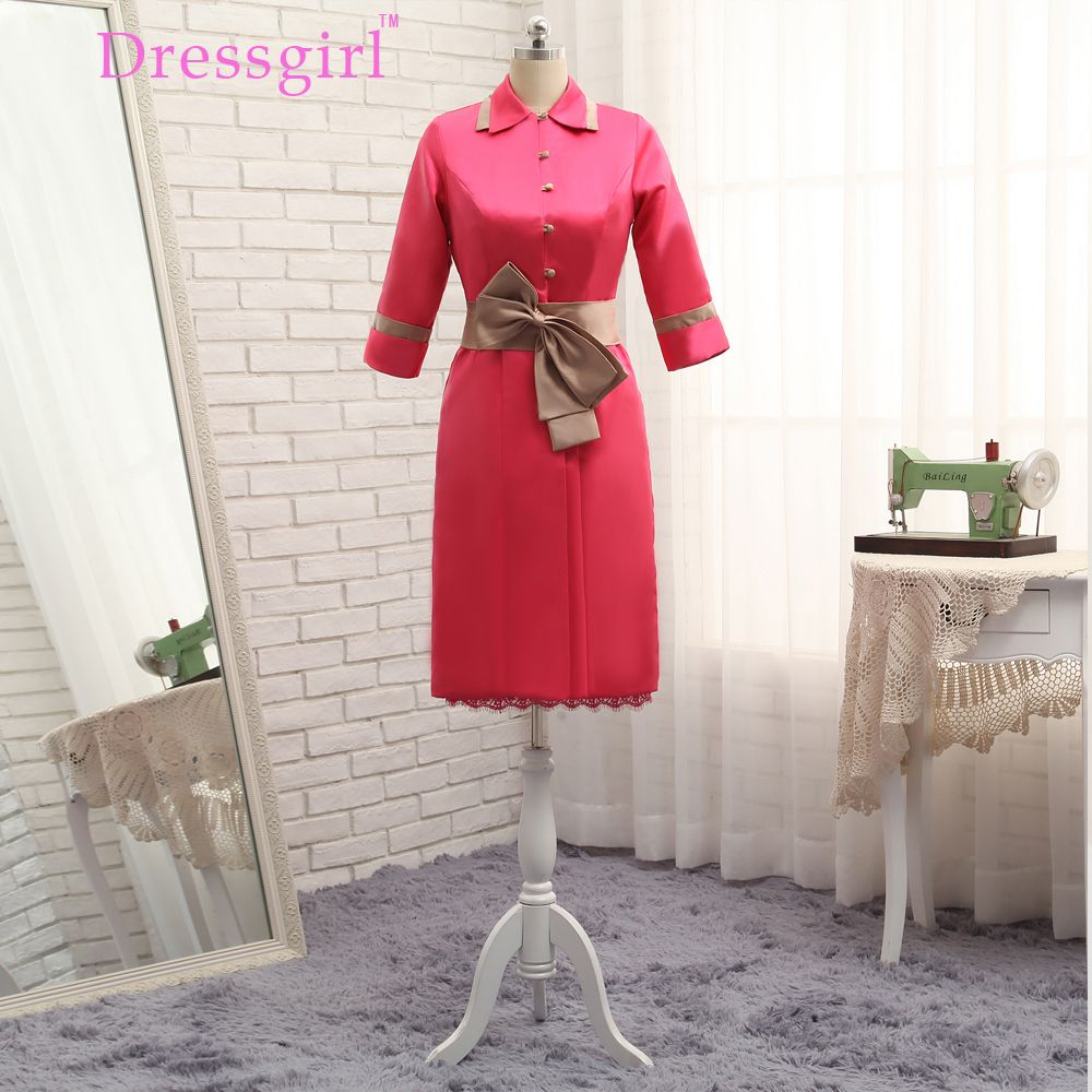 Coat dresses for weddings  Dressgirl Red  Mother Of The Bride Dresses Sheath With Jacket