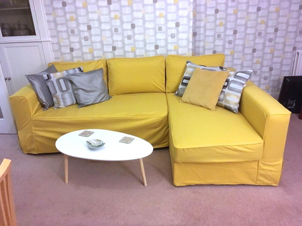 Ikea Manstad Sofa In Comfort Works