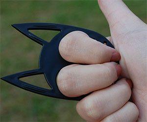 Cat Ears Self Defense Keychain Self Defense Keychain Cat Self