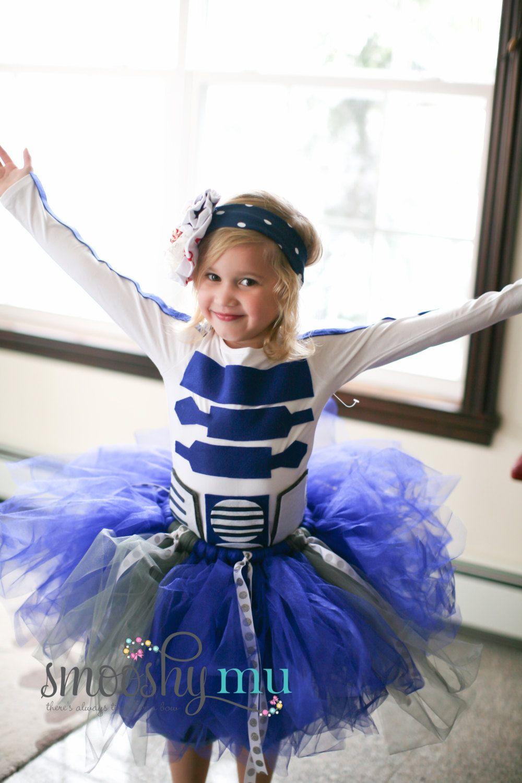 Girls Tutu R2d2 Costume Star Wars Baby