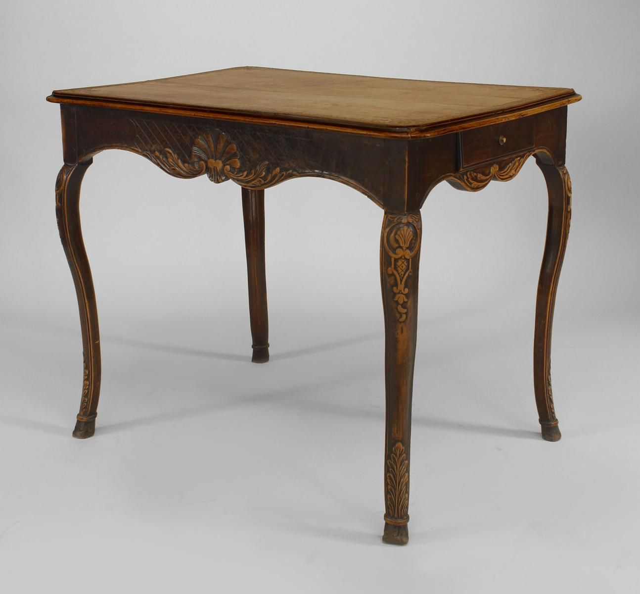French Provincial Floral Carved End Table French Table Table French Provincial Table