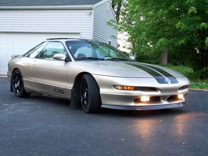 Gts With Mach1 Front Lip Ford Probe Gt Ford Probe Ford Gt