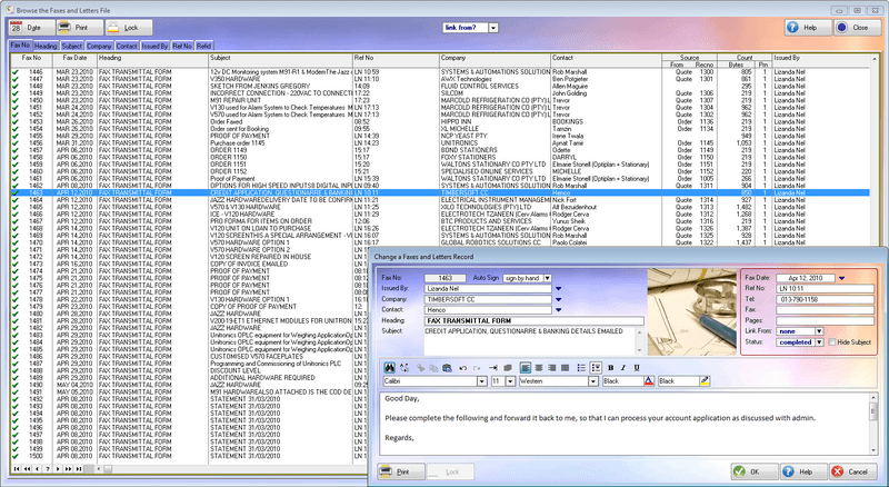 AndroidErp Business Erpdroid Screenshot   Software Interface