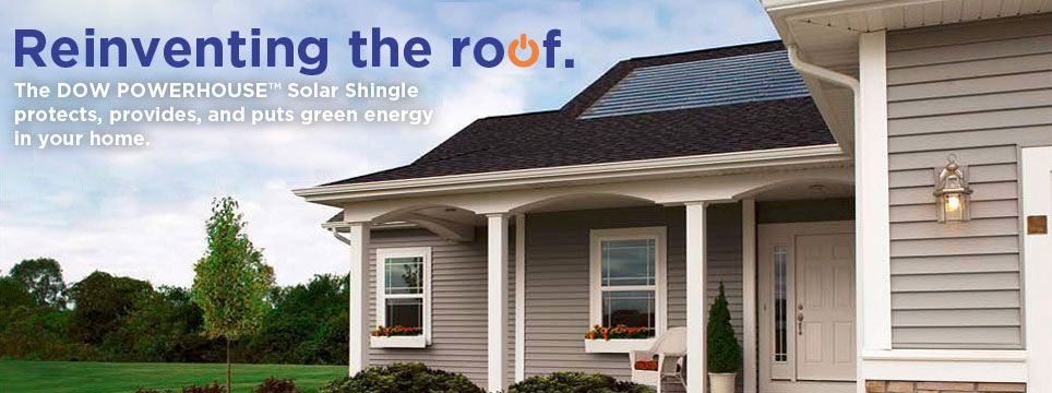 Expanded Availability Announced for DOW POWERHOUSE Solar Shingles