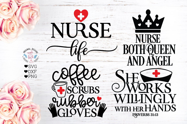 Nurse SVG Nursing Quotes Bundle Ad , Sponsored,
