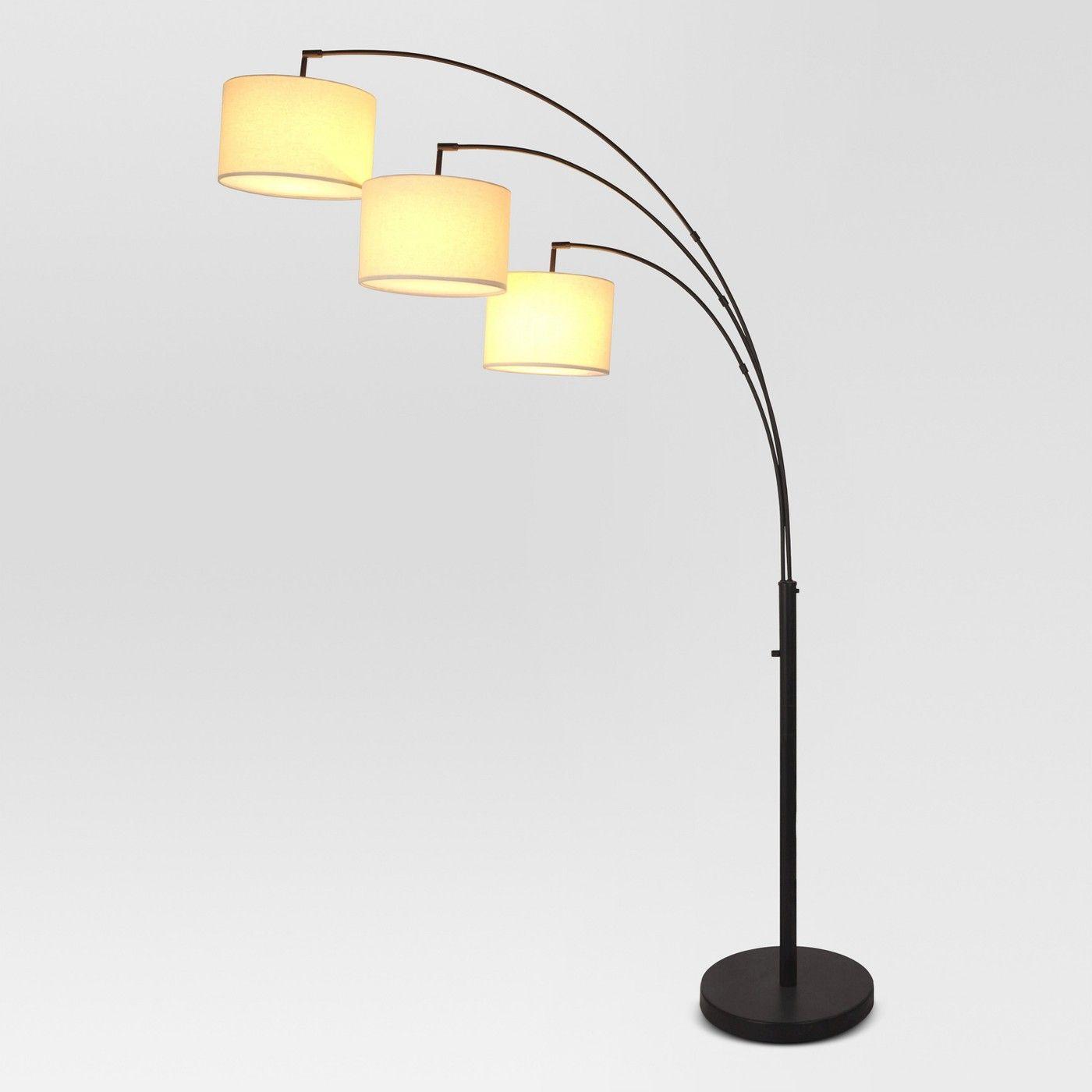Avenal Shaded Arc Floor Lamp - Project 17™  Arc floor lamps