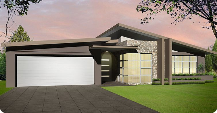 Skillion roof house designs australia home design and style for Skillion roof definition