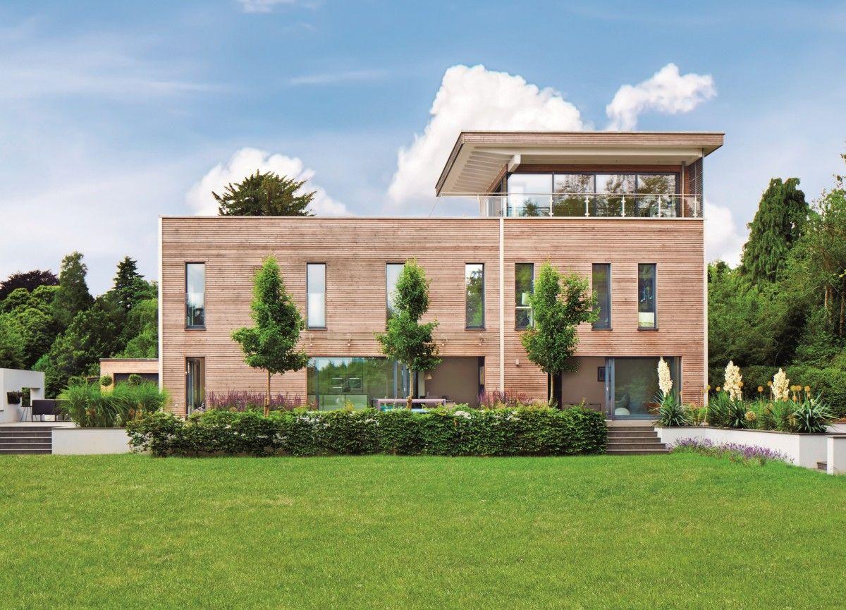 Design-Haus Weald House - Baufritz - http://www.hausbaudirekt.de ...