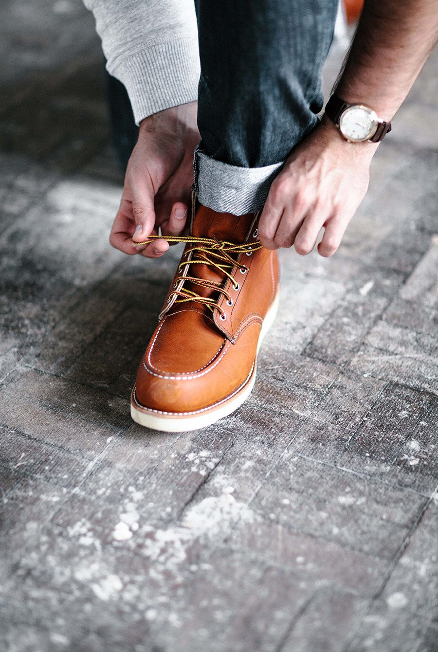 bd118a3c667 Red Wing Shoes 875 6   Classic Moc Toe in Oro-Legacy