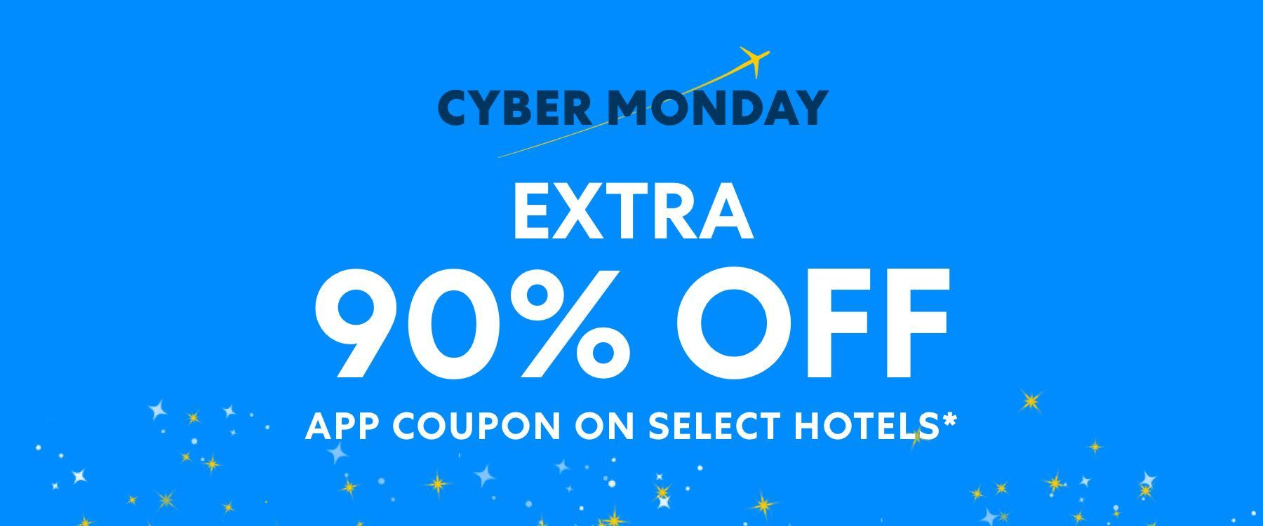 Expedia Vacation Extra 90 off app coupon on select hotels