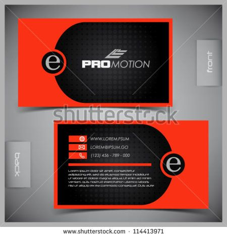 Free Black And White Business Card Template Intended For Black And White Business Cards Te White Business Card Free Business Card Templates Free Business Cards