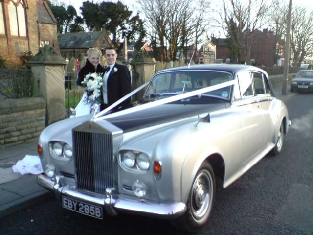 Skelmersdale Rolls Royce Vintage Wedding Car Courtney Vaughn S