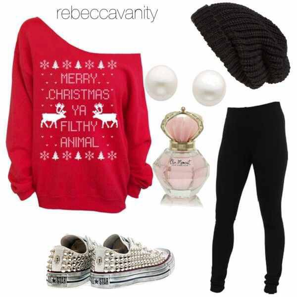 Cutest Christmas outfit | School style in 2018 | Pinterest | Outfits ...