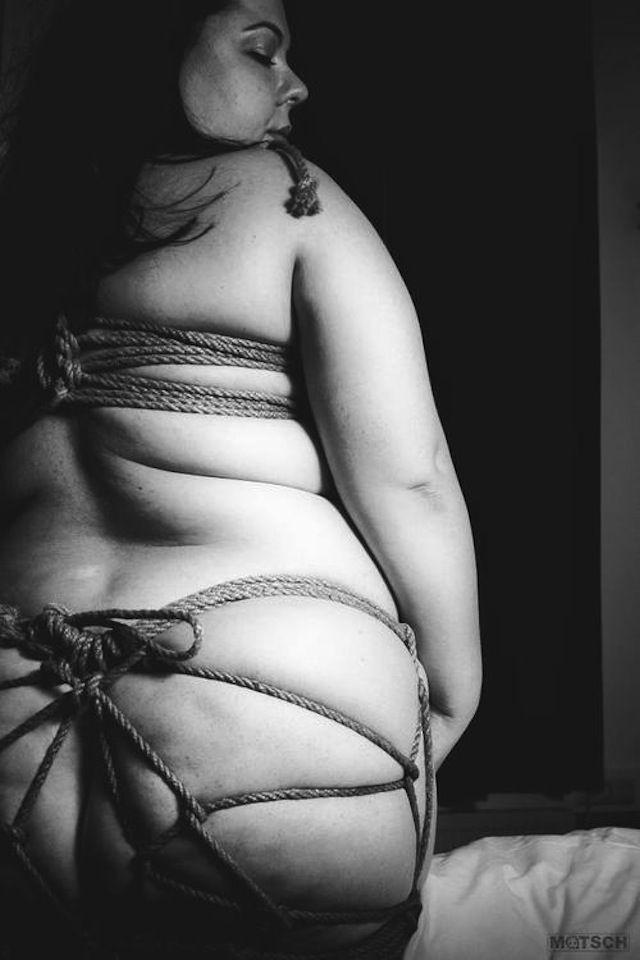 Bbw rope bondage