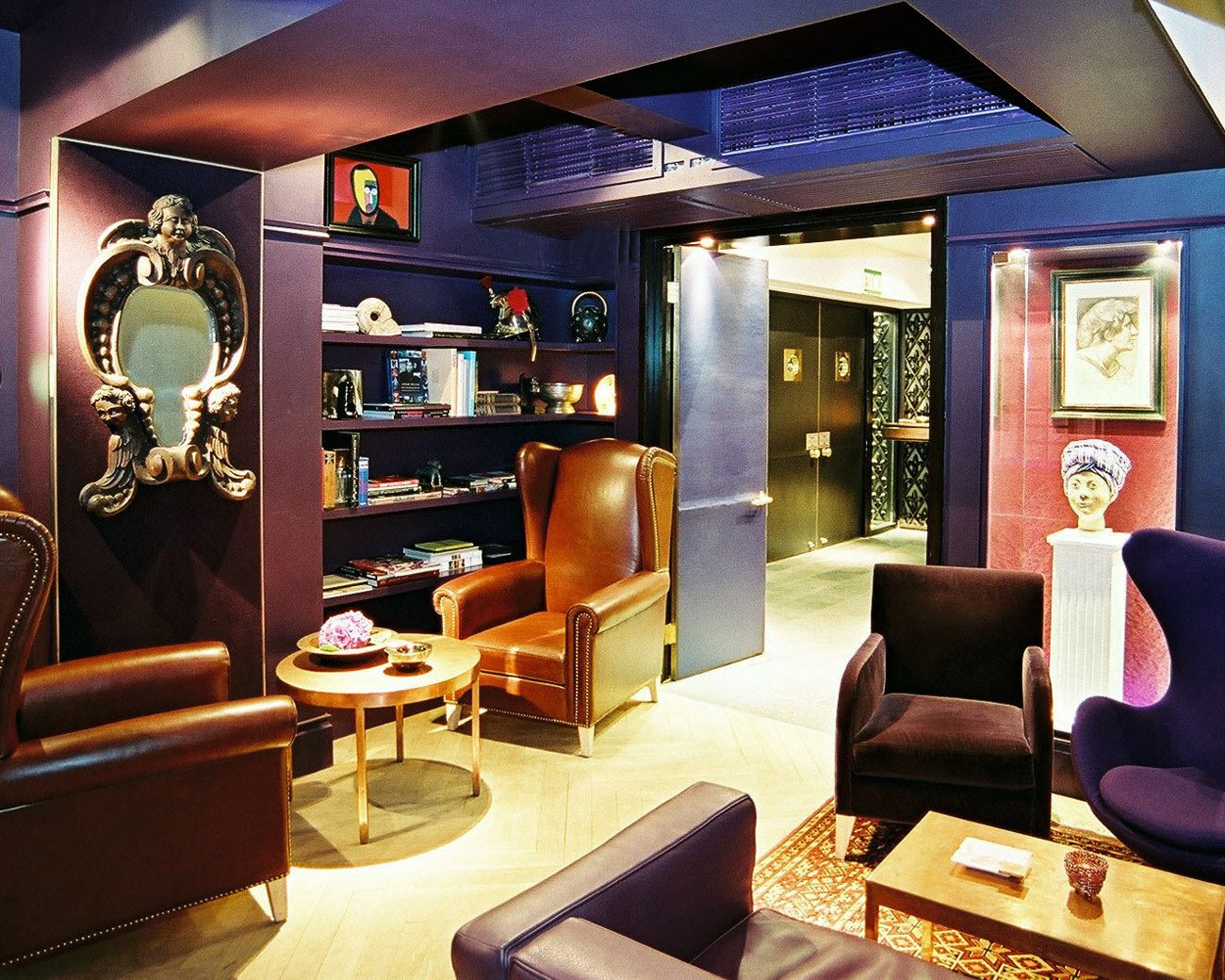 Here S A Photo Of The Interior Of Kee Club Central Hongkong Keeclubhk Members Only Bar Lounge Commercial Interiors Interior