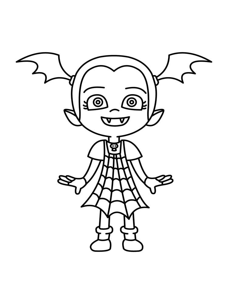 Vampirina Coloring Pages Best Coloring Pages For Kids Halloween Coloring Pages Halloween Coloring Coloring Pages