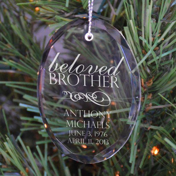 Beloved Brother Ornament