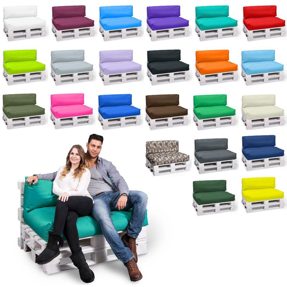 palettenkissen palettenpolster palettenauflage kissen m bel rattan sofa couch garten. Black Bedroom Furniture Sets. Home Design Ideas
