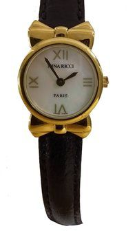 58d286541028 Get the lowest price on Genuine Gold Plated Nina Ricci Watch in Box and  other fabulous designer clothing and accessories! Shop Tradesy now