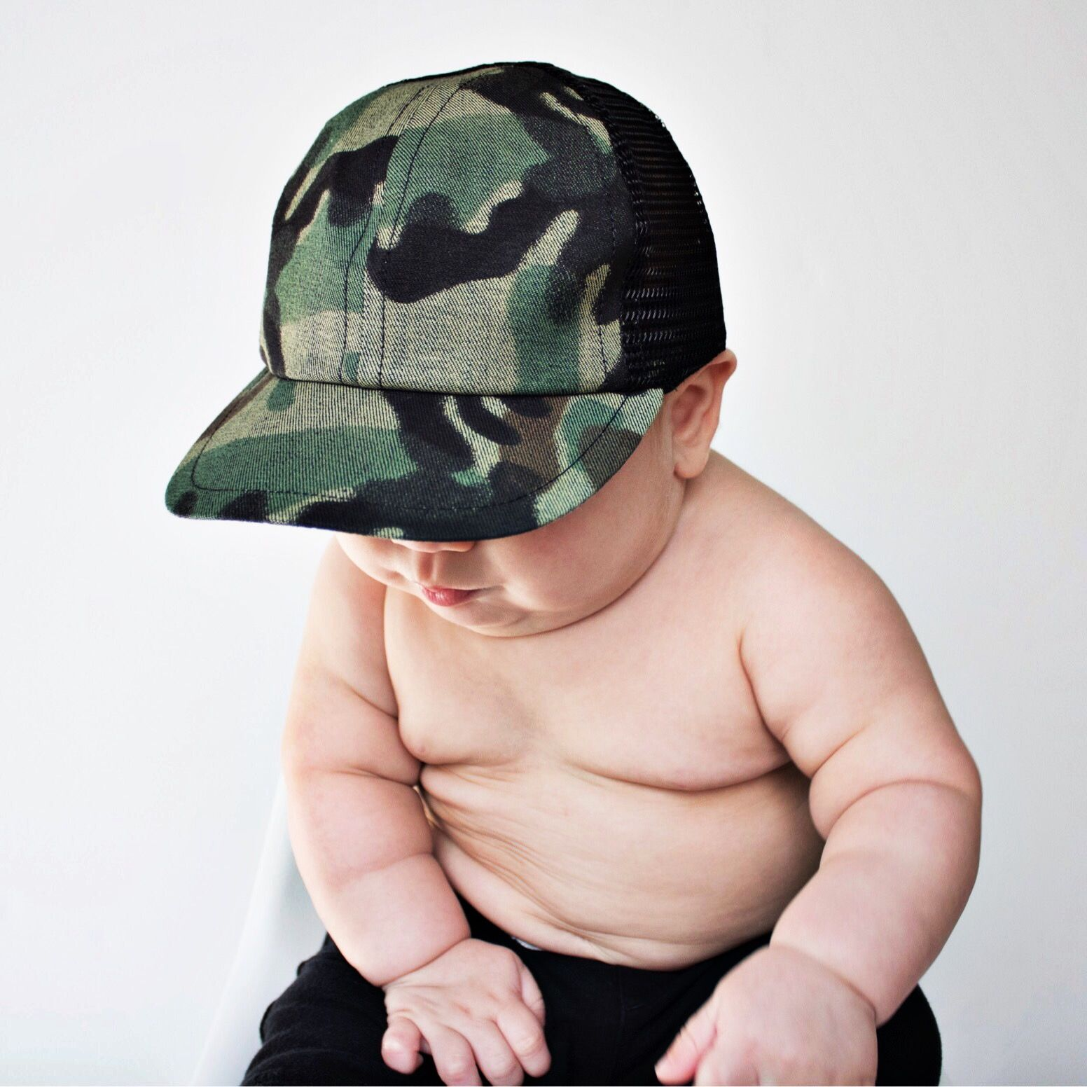 115eface Camo Trucker for the littles! Baby boy is gonna NEED all of these ...