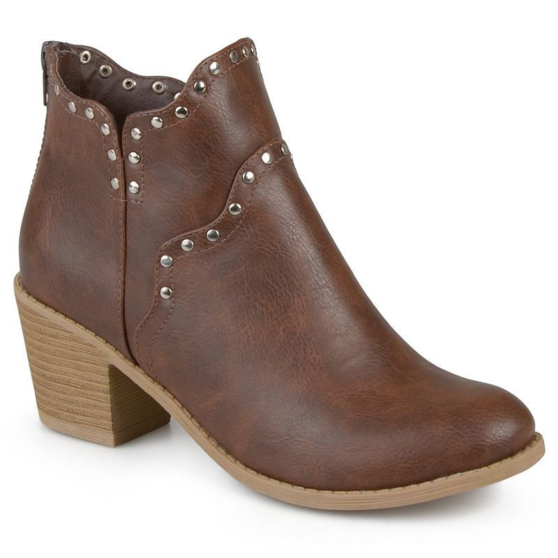 journee collection krisla s ankle boots size 11 brown