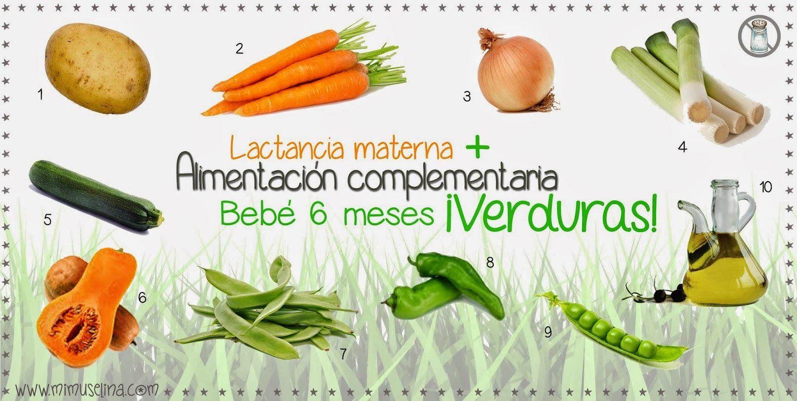 Introduccion De Las Verduras Alimentacion Complementaria Del Bebe