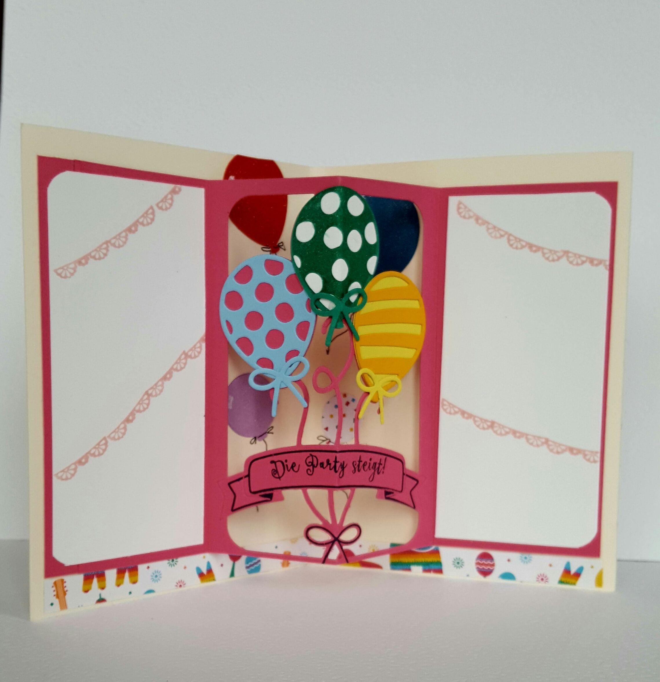 Fesselnd Balloonparty Und Die Thinlits Ballon Pop Up Sind Ein Tolles Bundle Um  Geburtstagskarten Zu Erstellen