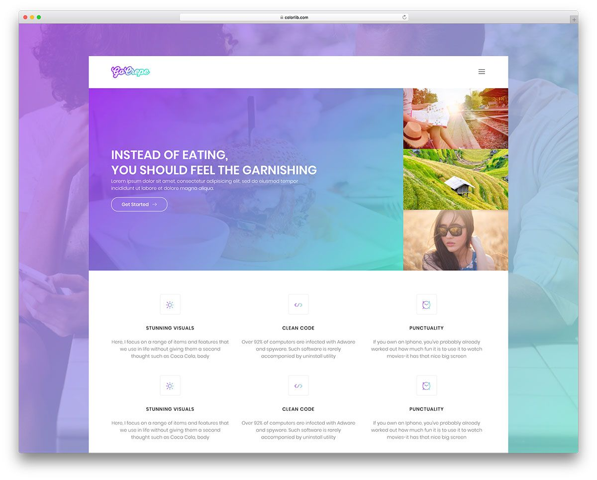 31 Top Free Bootstrap 4 Website Templates 2018 Colorlib Simple Website Templates Free Website Templates Website Template