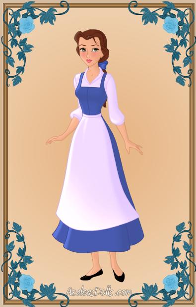 Pin by Makayla Adams on Halloween | Belle blue dress ...