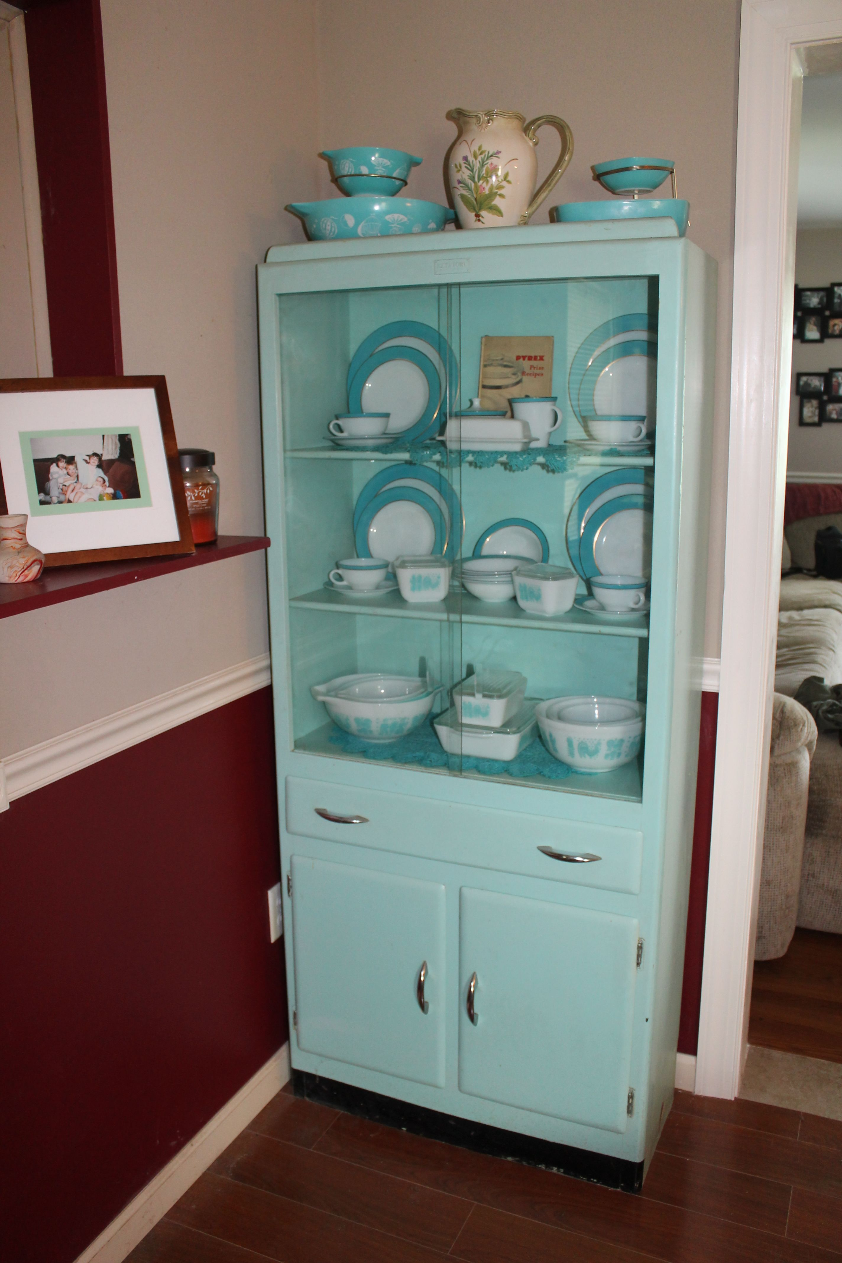 Pyrex Collection in my 1950s cabinet :)   My Pyrex Collection ...