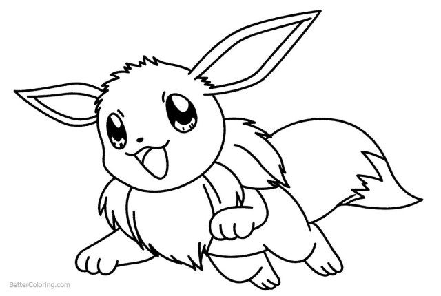 25 Great Picture Of Eevee Coloring Pages Albanysinsanity Com Bee Coloring Pages Pokemon Coloring Coloring Pages