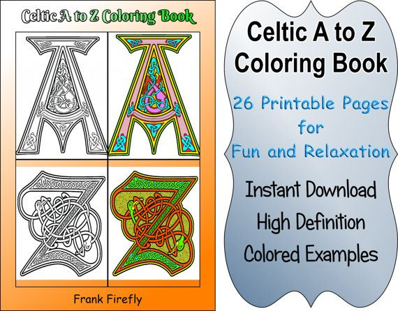 Celtic Coloring Book 26 Printable By ColoringBooksPages