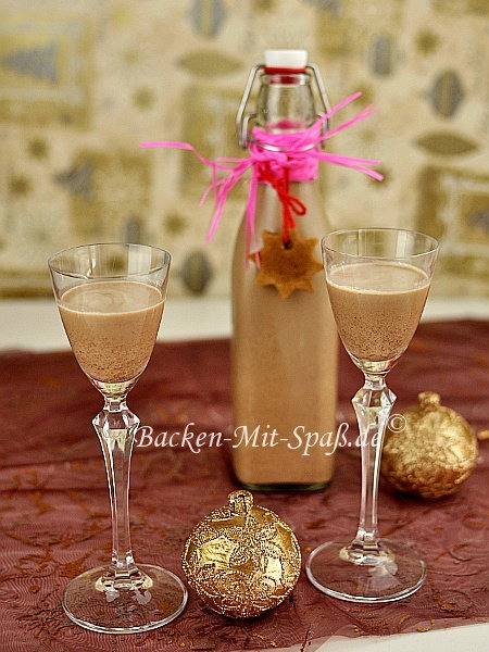 Photo of Christmas gingerbread liqueur