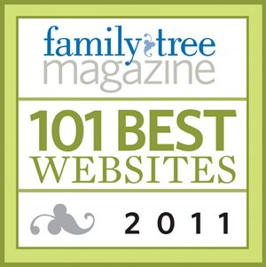 Family Tree Magazine ~ 101 Best Websites