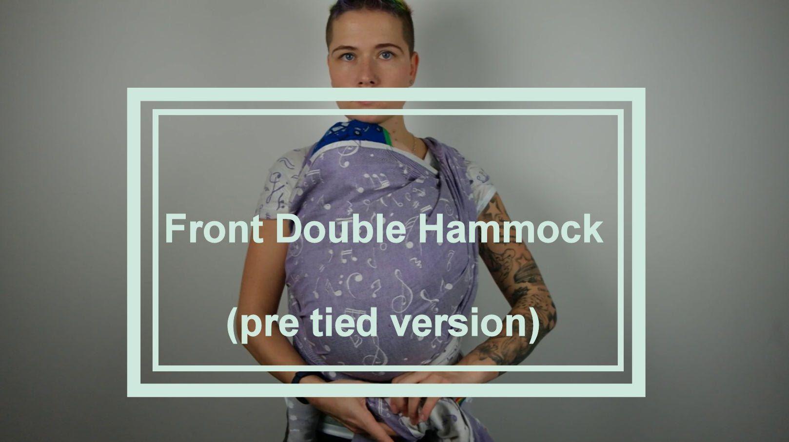 Front Double Hammock